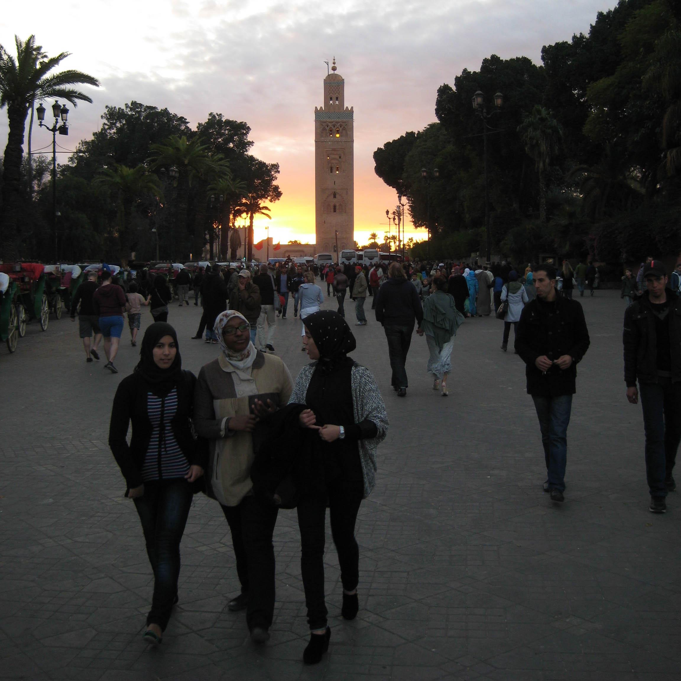 Kerst in marokko 2013