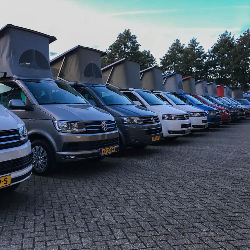 Campers op voorraad bij Campercentrum Nederland