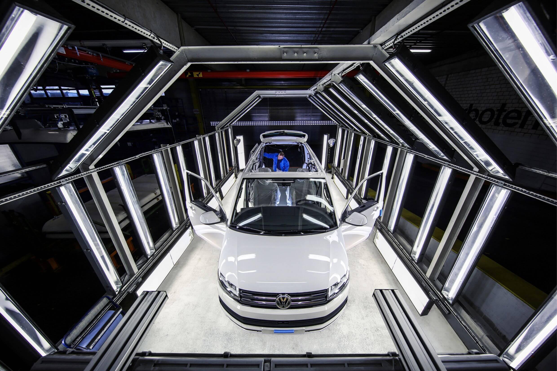 Productie van de Volkswagen California camper