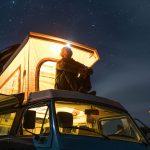 Wildkamperen met een Volkswagen California