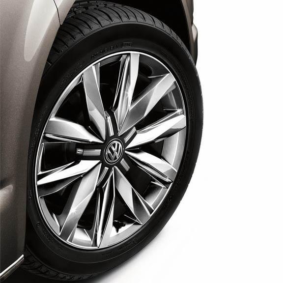 Alle mogelijke velgen voor de Volkswagen California