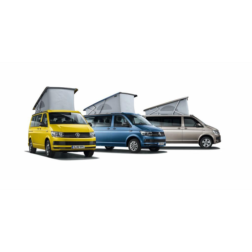 Lakkleuren van de Volkswagen California