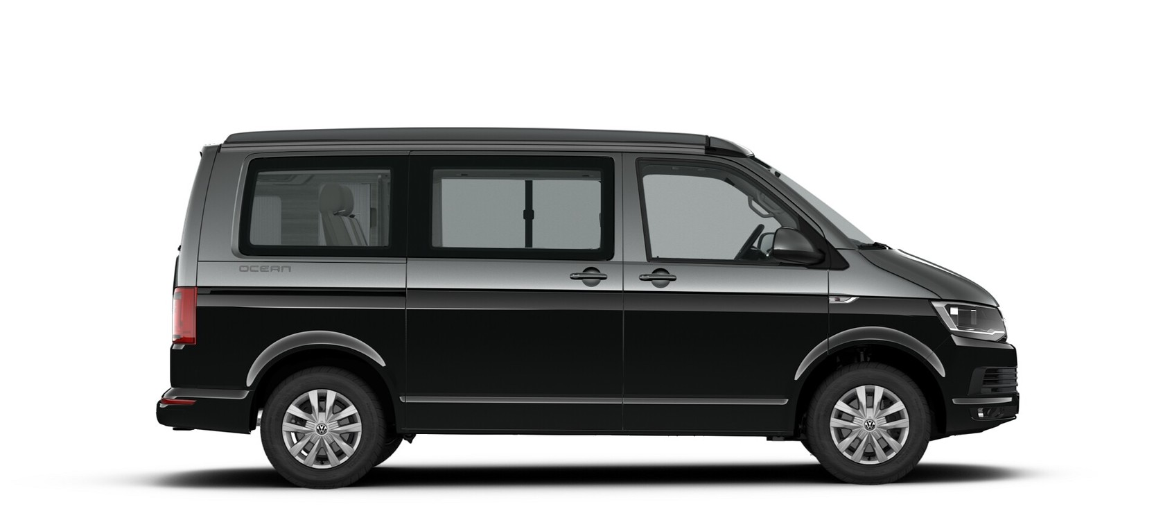 Deep Black/Indium Grey two tone parel/metallic lak - Volkswagen California Ocean