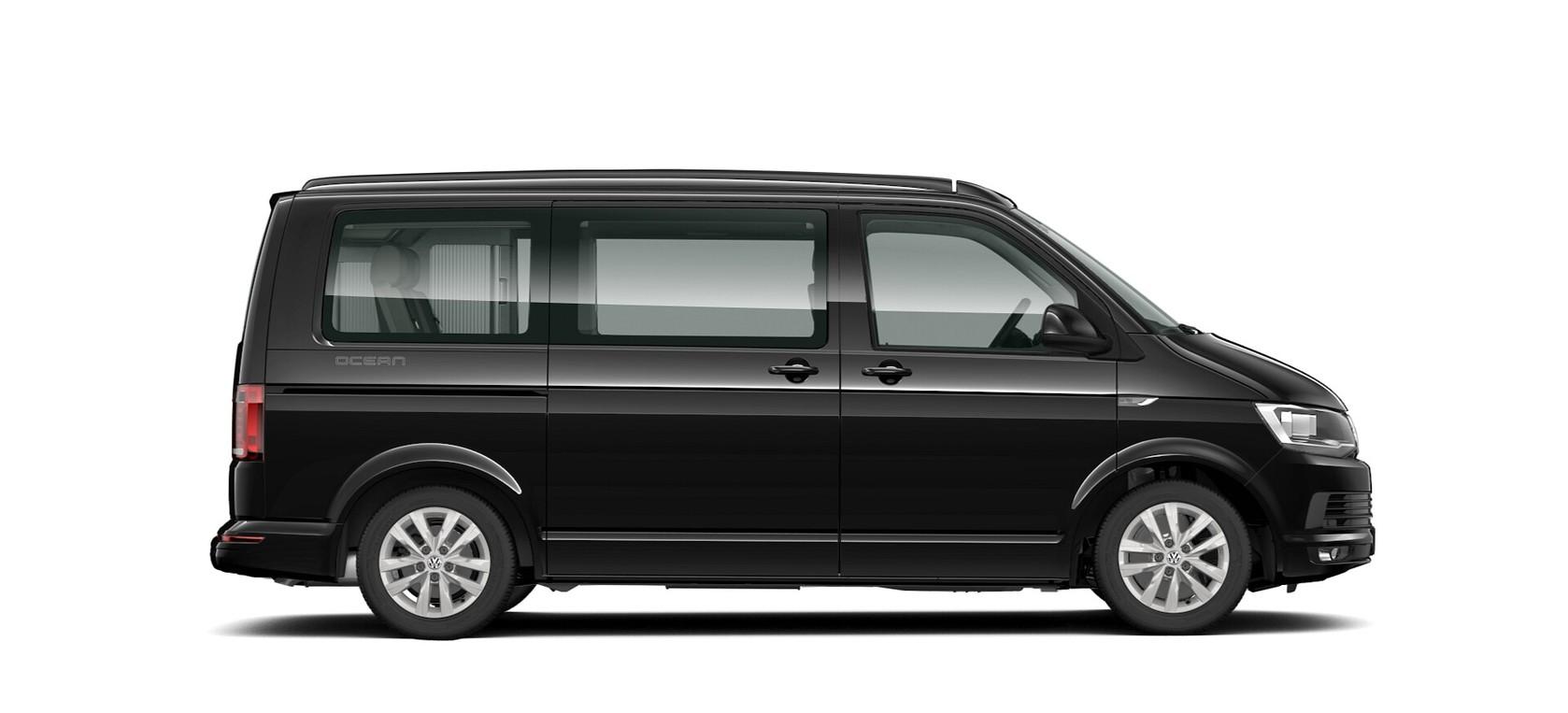 Deep Black metallic lak Volkswagen California Ocean