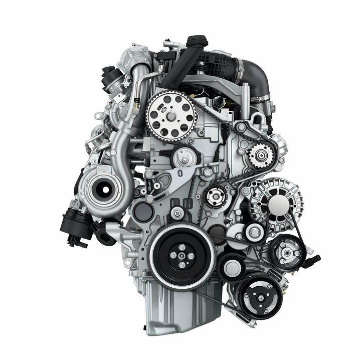 alle motoren in de Volkswagen California