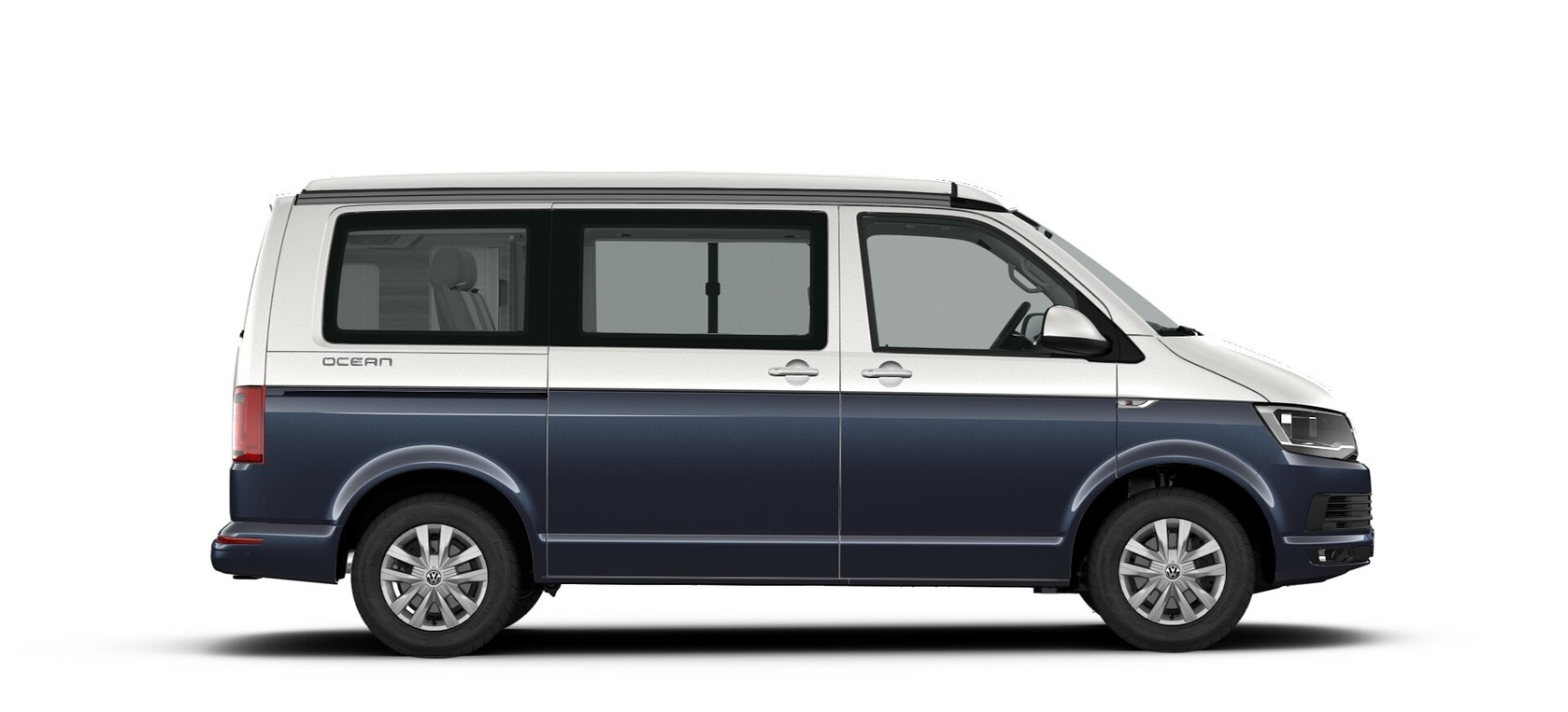 Starlight Blue/Candy White two tone metallic lak - Volkswagen California Ocean