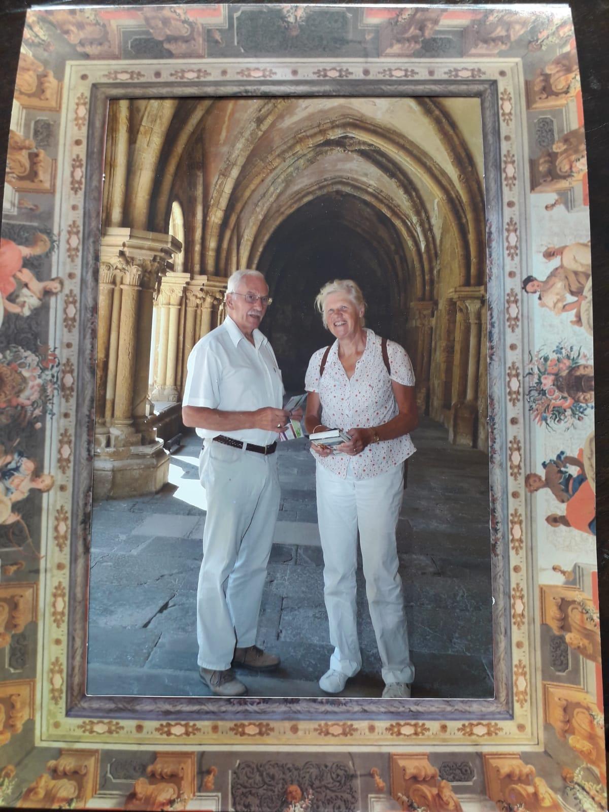 Op de foto in de Kathedraal van Coimbra - Reisverhaal Kino Jansonius