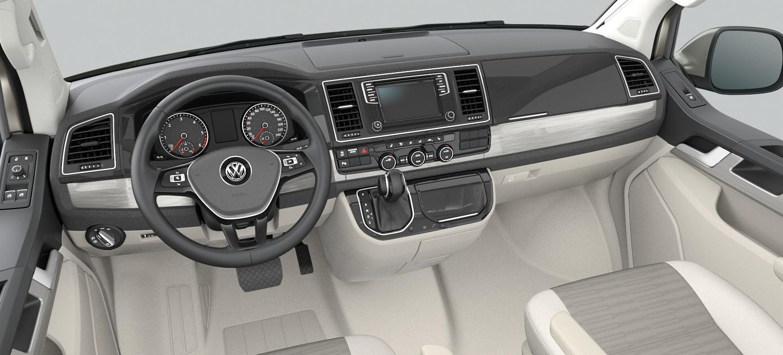 Interieur actiemodel Volkswagen California