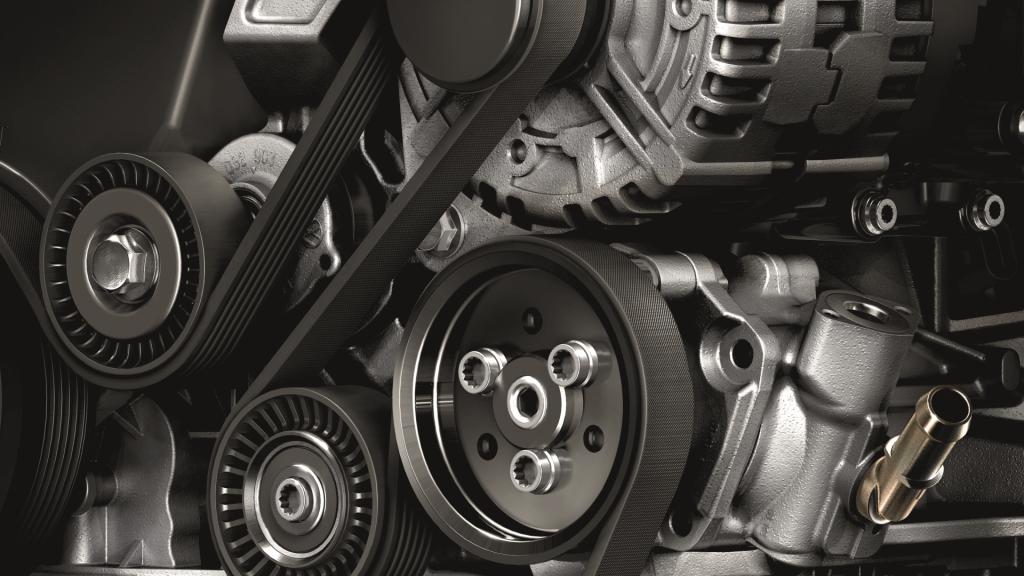 Motor van de Volkswagen California