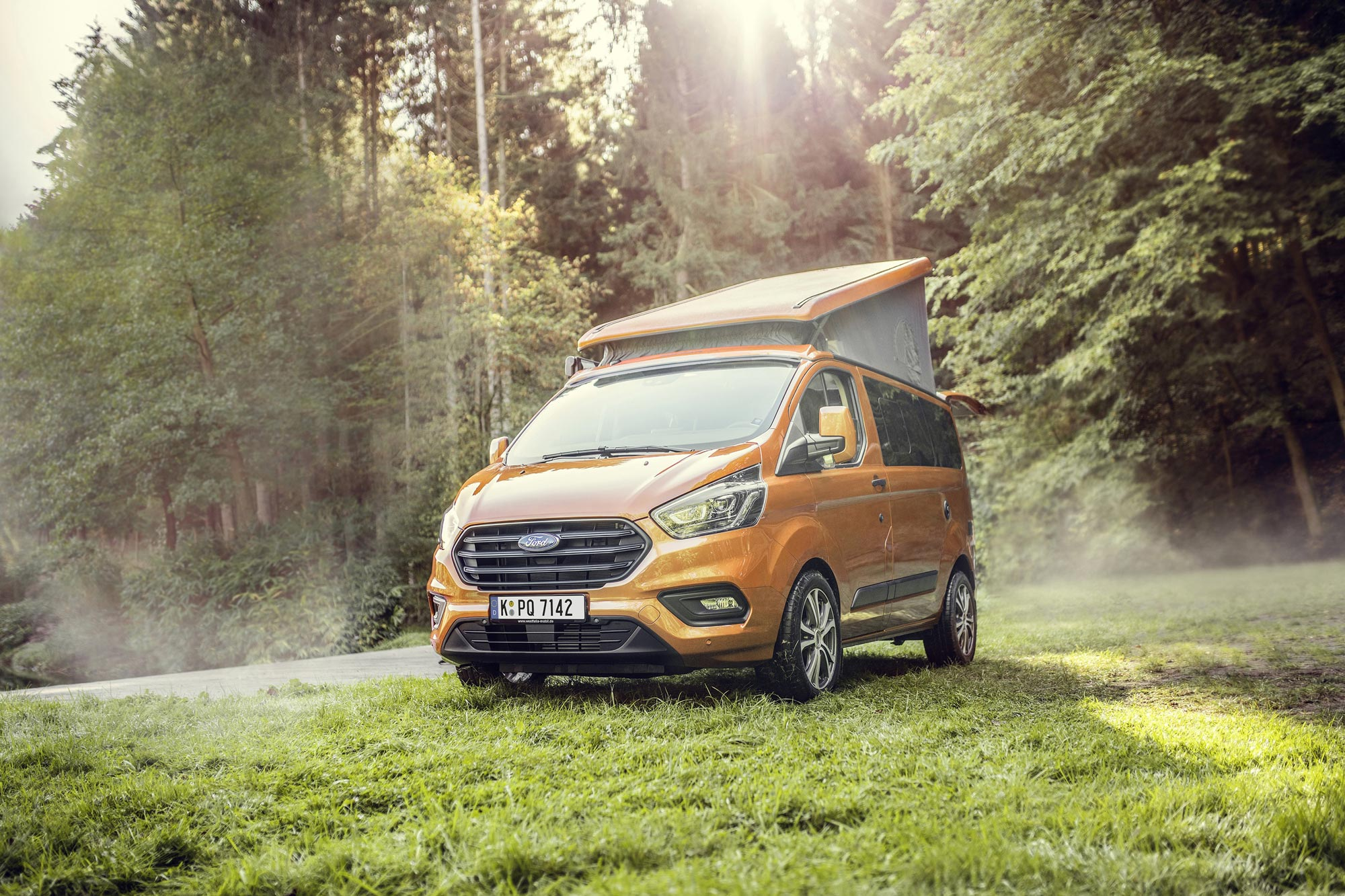 Westfalia Ford Nugget hefdak