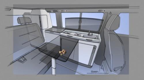 Volkswagen California 6.1 interieur