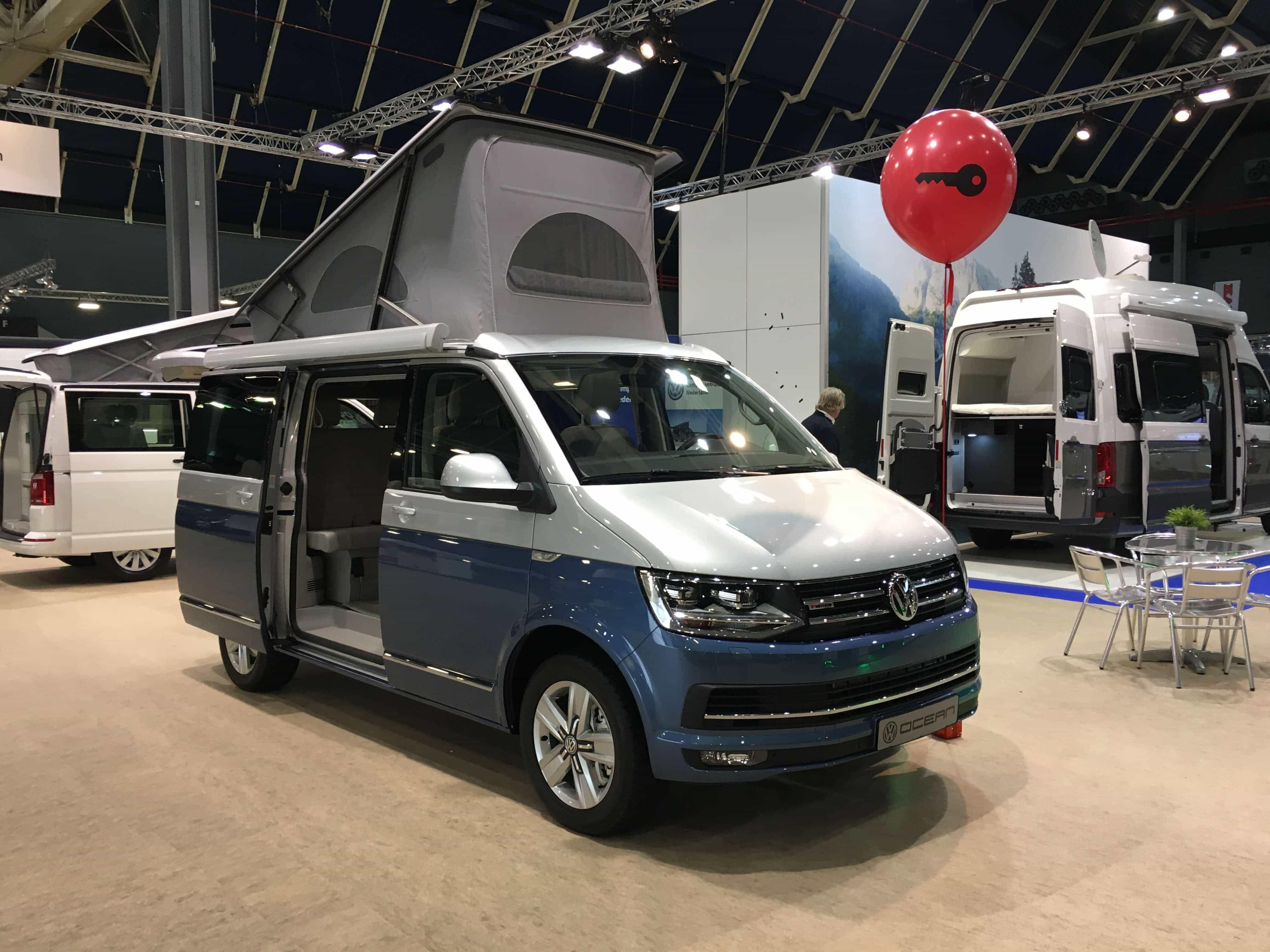 Volkswagen California Ocean op de KCJ 2019
