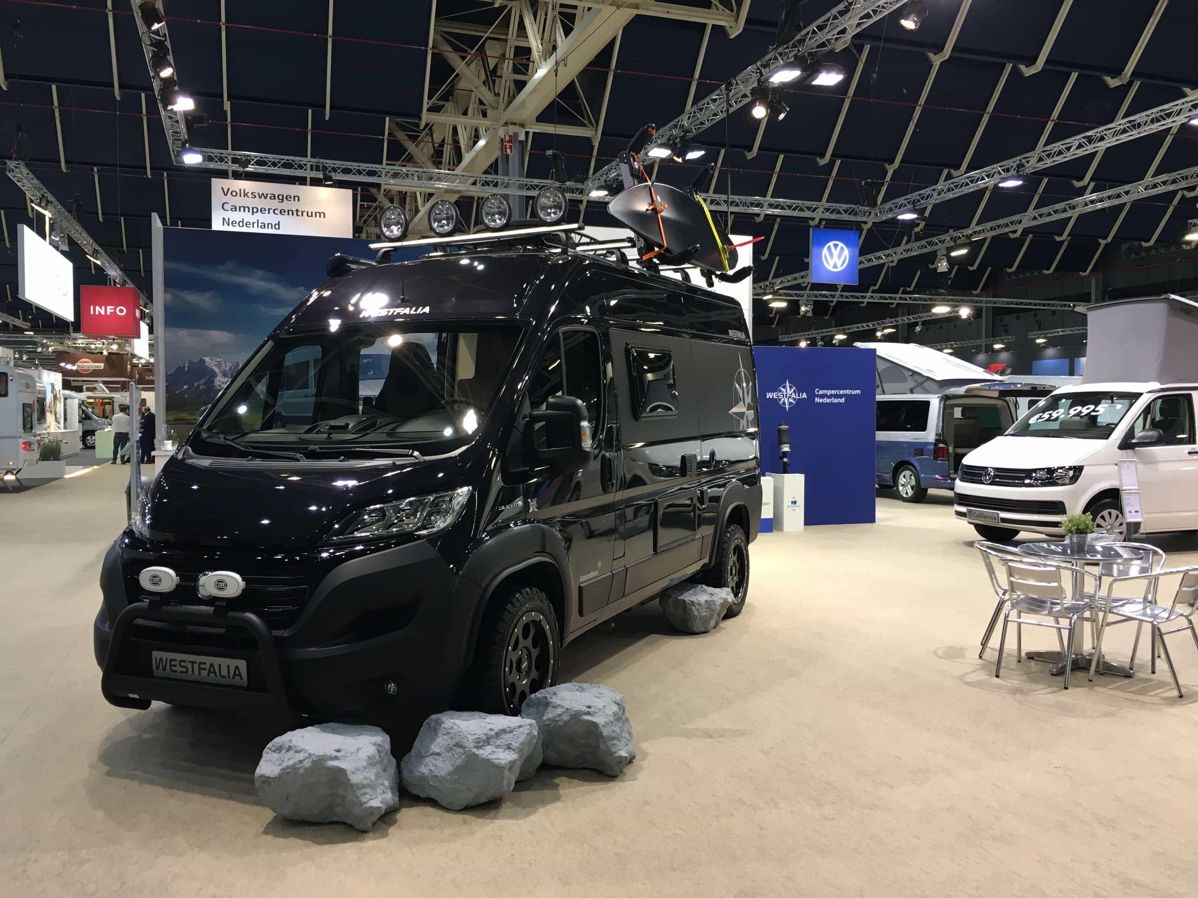 Westfalia Amundsen 4x4 offroad op de KCJ 2019