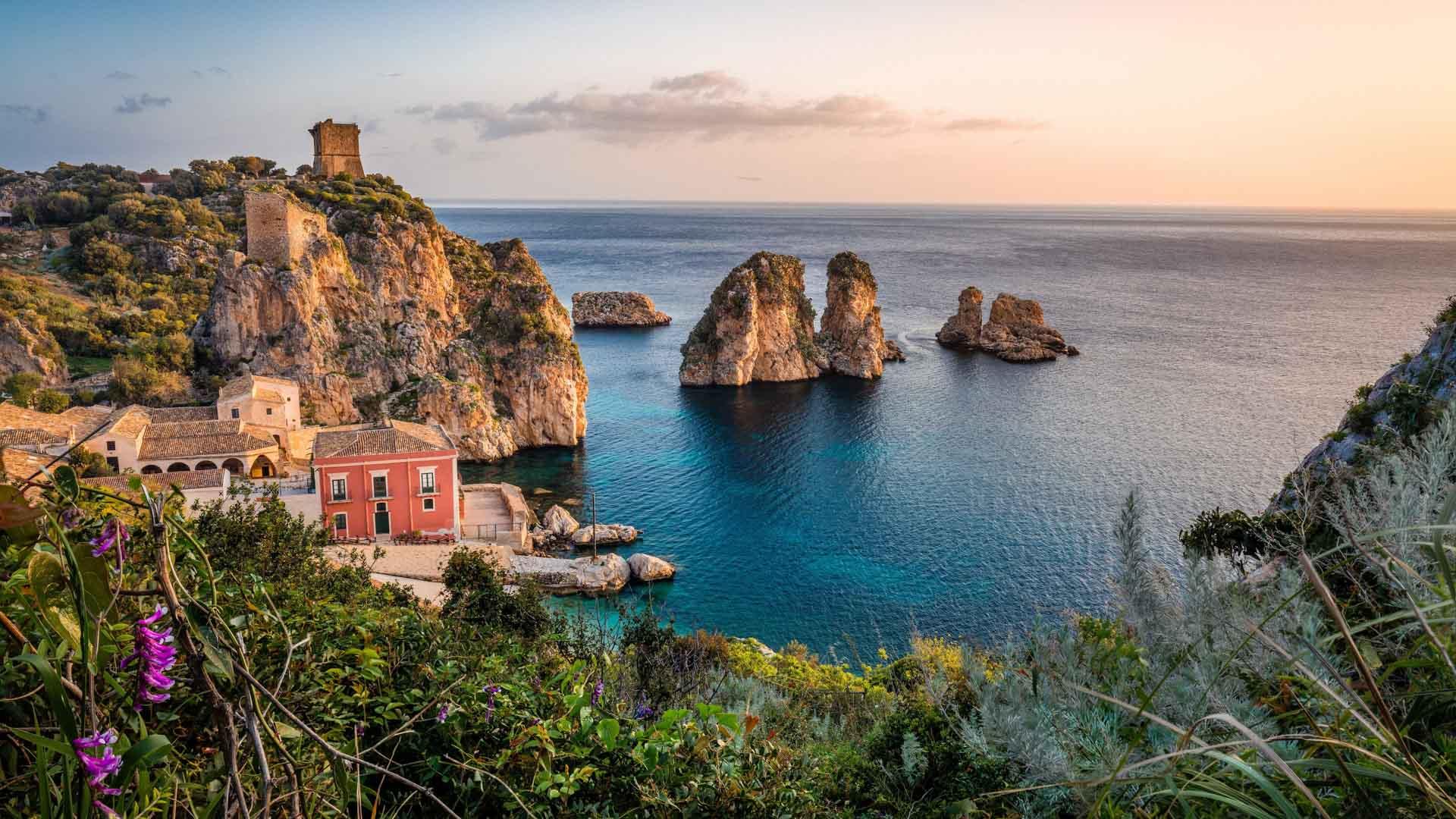 Tonnara di Scopello - Camperreis naar Sicilië
