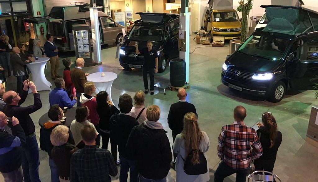Nederlandse introductie Volkswagen California 6.1
