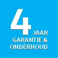 4 Jaar garantie en onderhoud