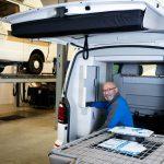 Nino van Ingen schadespecialist bij Campercentrum Nederland