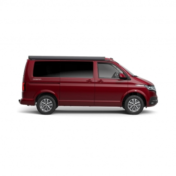Volkswagen California Ocean Fortana Red zijkant